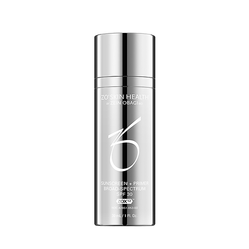 ZO Skin Health - Crème Solaire + Primer SPF 30 à large spectre