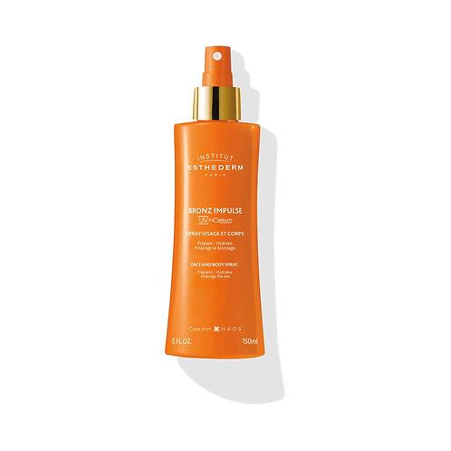 ESTHEDERM - Bronz Impulse Spray visage et corps 150ml