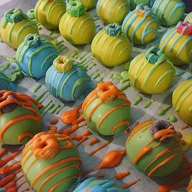 Fruit Loop Cake Balls