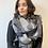 Thumbnail: Grey spot reversible scarf