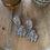 Thumbnail: Silver chunky danglers