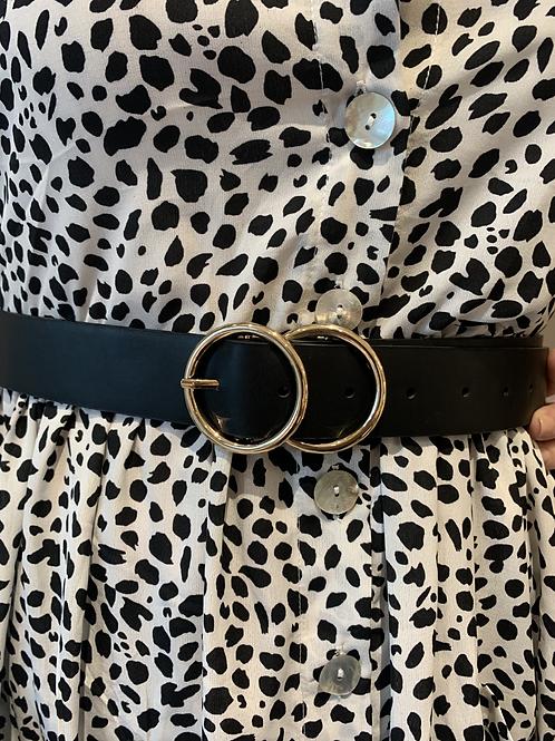 Black and Gold Belt