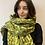 Thumbnail: Lime animal print scarf