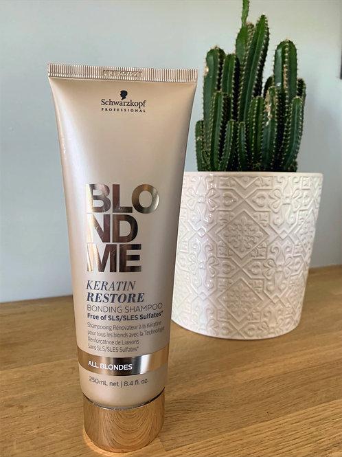Blondme - Keratin Restore Sulphate free Shampoo