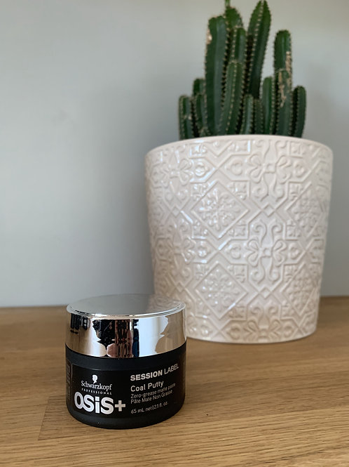 Coal putty matte styling paste