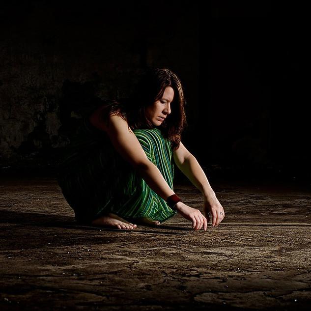 Photo shoot for my first EP: Fear (2007) Photo: Leo Erdfelt