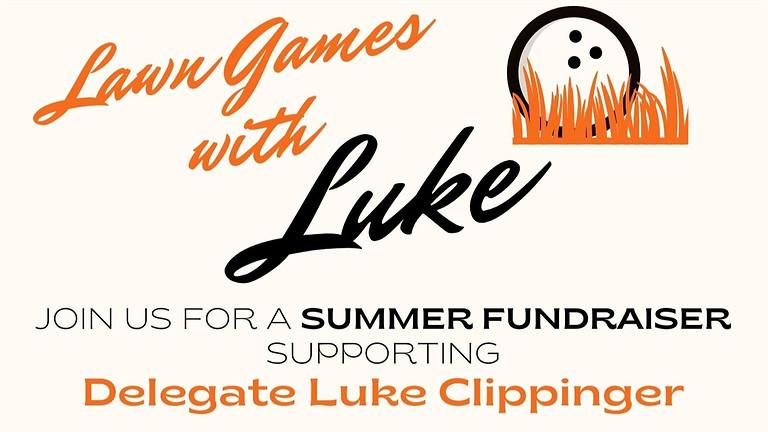 Lawn Games with Luke! Luke's Summer Fundraiser