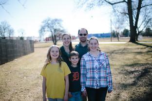 happy christian family