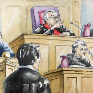 Court Drawings