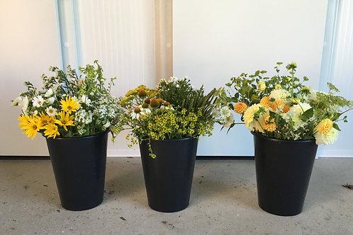 Kýbl květin