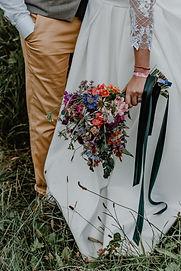 kytice pro nevěstu červenec