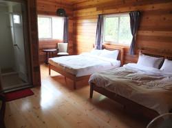 幸福檜木屋民宿 -房間2
