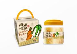 黃金泡菜(包裝外觀)