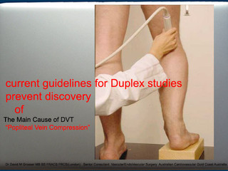 Criticism of Current Ultrasound Guidelines Regarding Causes of DVT