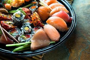 Sushi tallerken