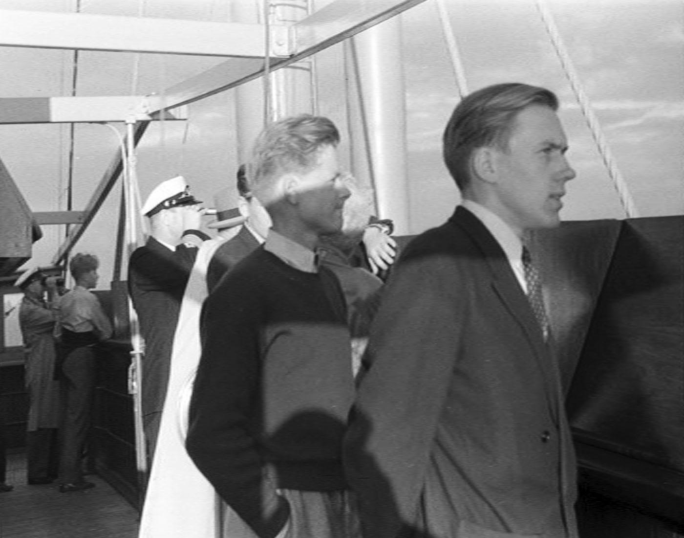 Arne og Gjert Wilhelmsen 1947