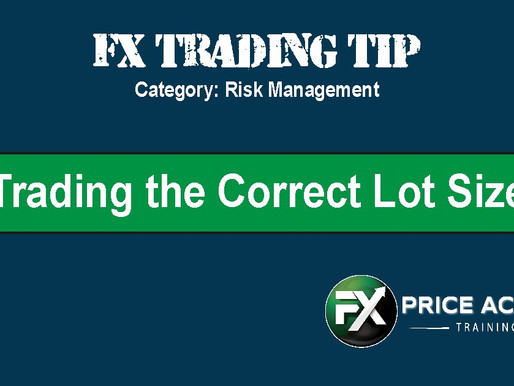 Trading the Correct Lot Size