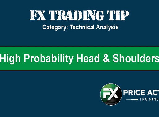High Probability Head & Shoulders Patterns - [Trading Tip]