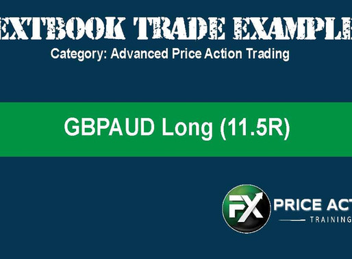 FX Price Action Textbook Trade Example: GBPAUD (11.5R)