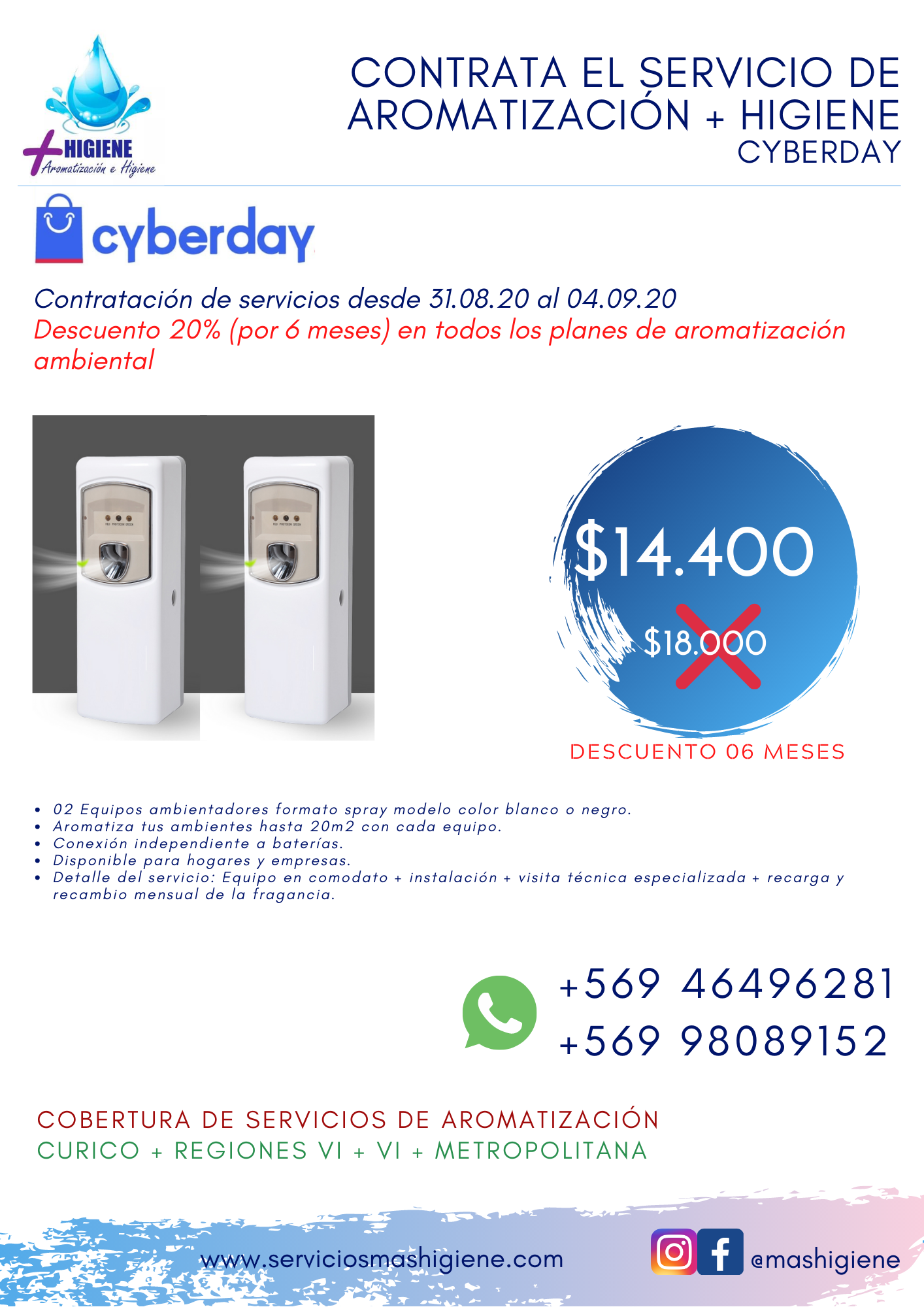 Spray Cyber