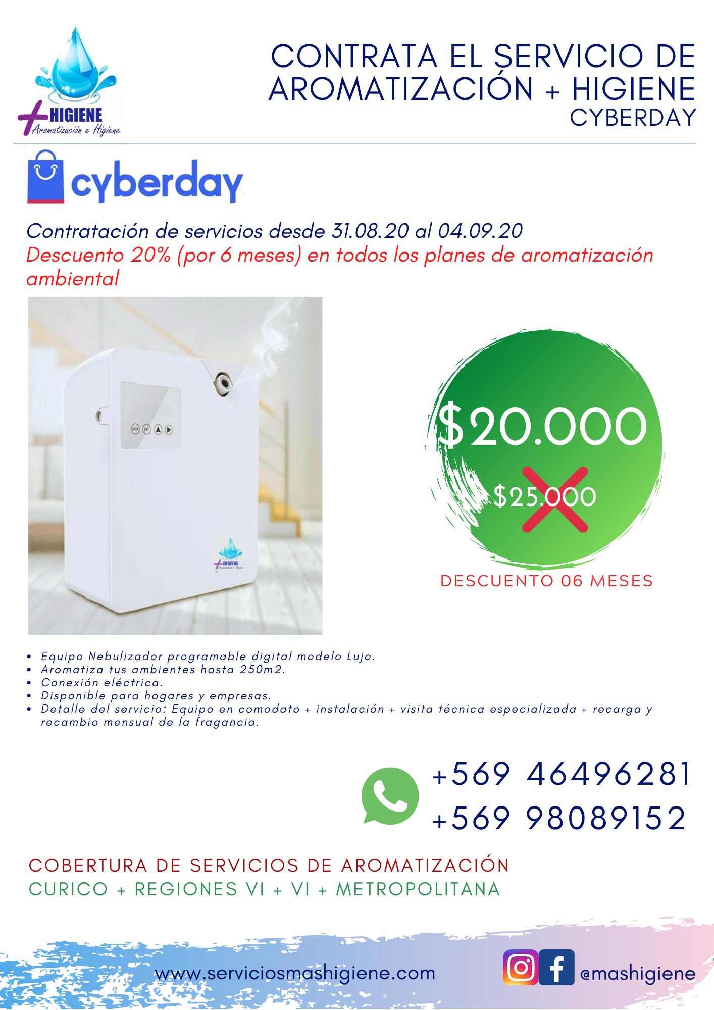 Nebulizador Cyber