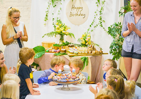Birthday Party. Easter Theme