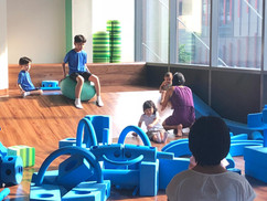 Block Play Area at Kaboodle