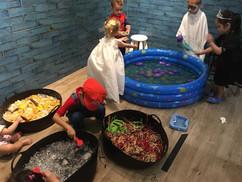 Halloween-Sensory pools