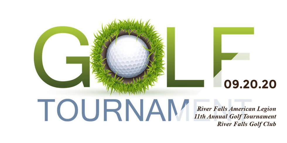 11th Annual Golf Tournament - Sunday September 20th, 2020