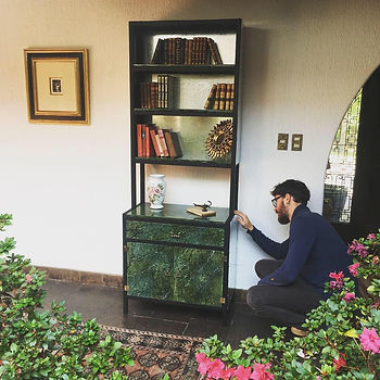 Romain Delaunay se encarga de hacer los creaciones totalmente a mano y a medida.