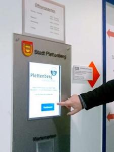 Wartemarkendrucker Stadt Plettenberg