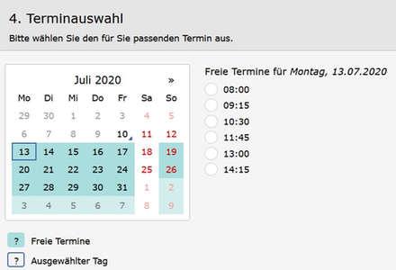Onlineterminkalender