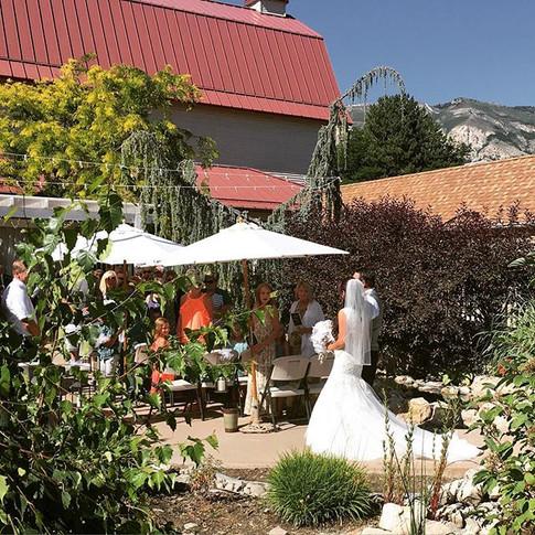 Another wonderful wedding weekend! Check