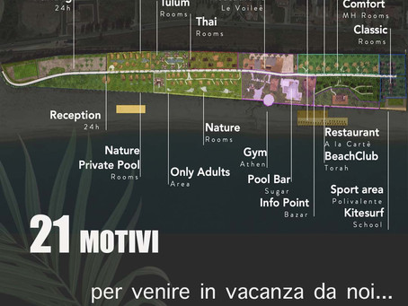 21 MOTIVI PER VENIRE