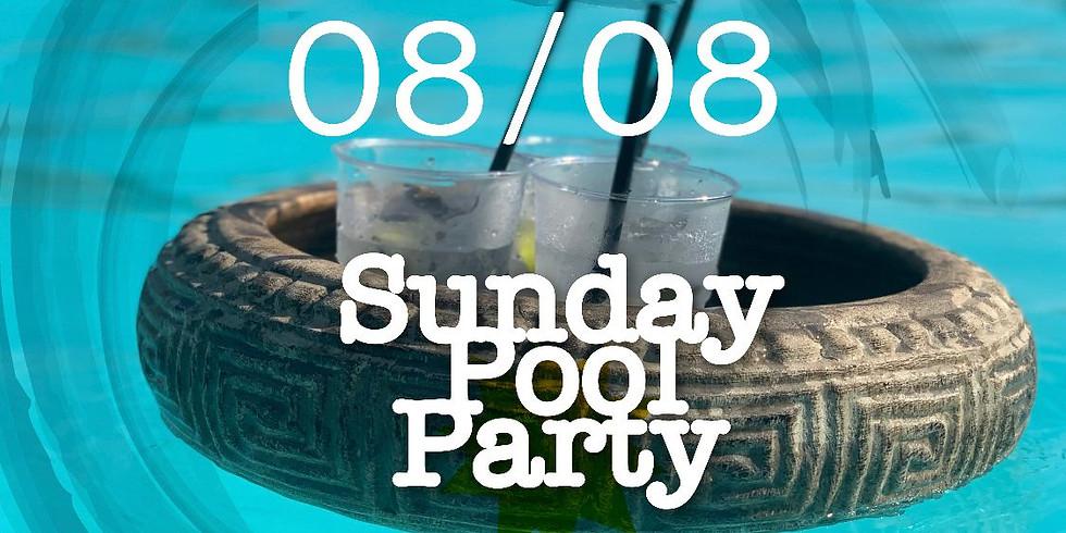 SUNDAY POOL PARTY 8 AGOSTO