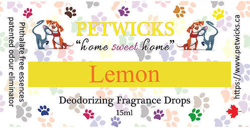Lemon Fragrance Drops