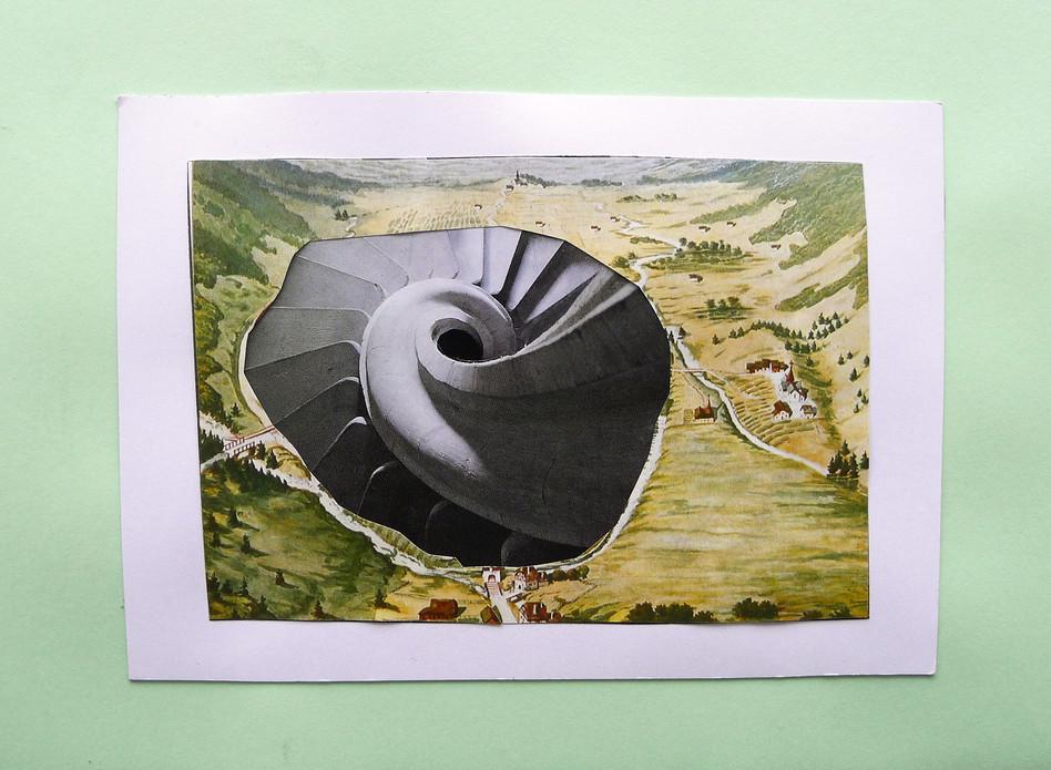 Augenstein (eye stone), 14,5 x 21 cm, paper, 2014
