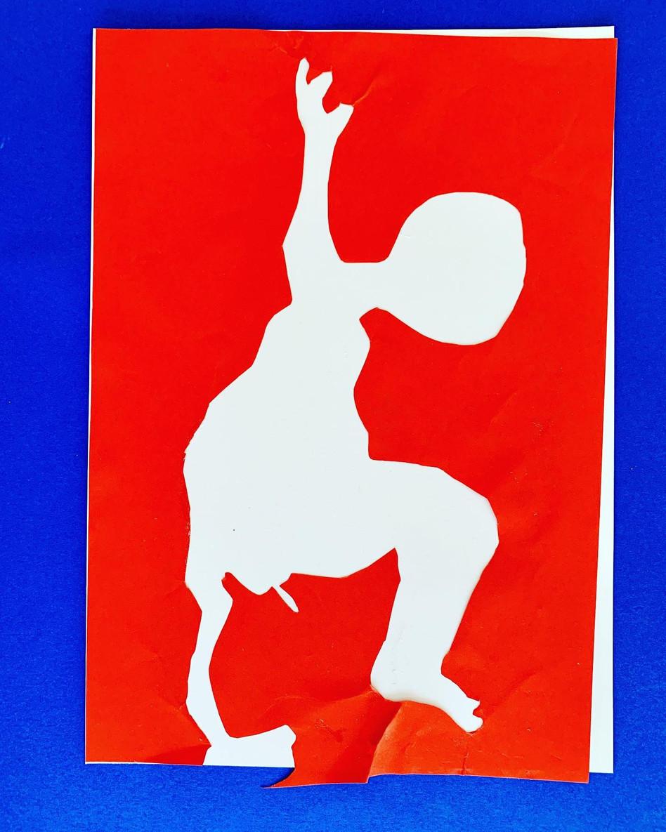 """Acrobatic"", 32 x 24 cm, 2019"