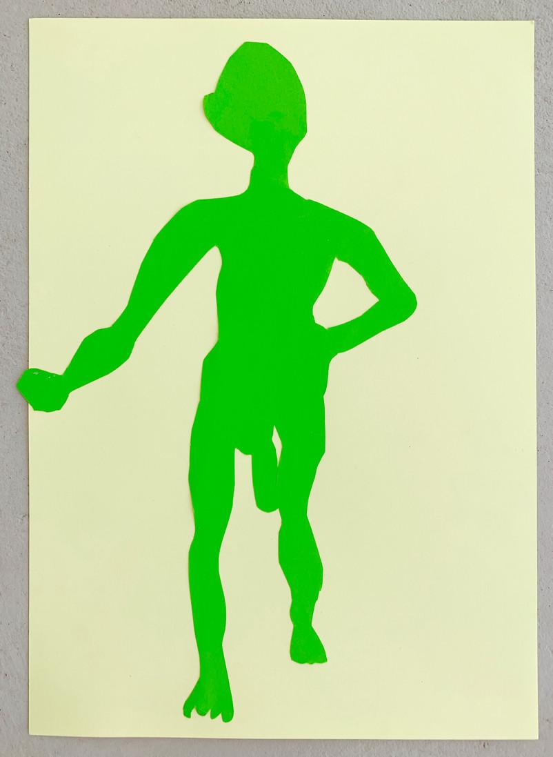"""A Leader I"", 29 x 22 cm, 2019"