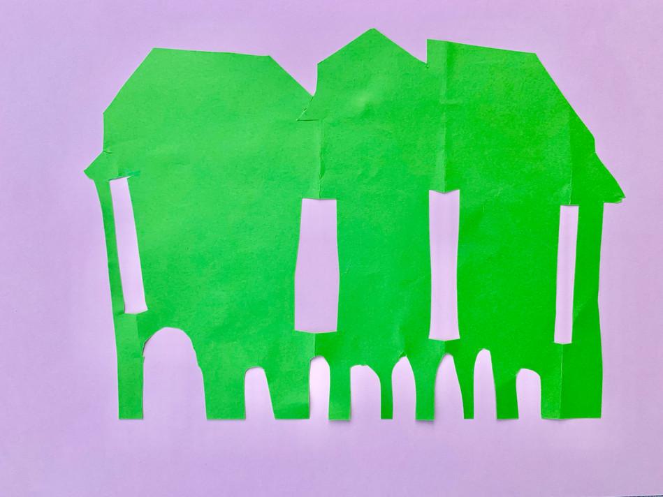 """The School, Endless"", 22 x 29 cm, 2019"