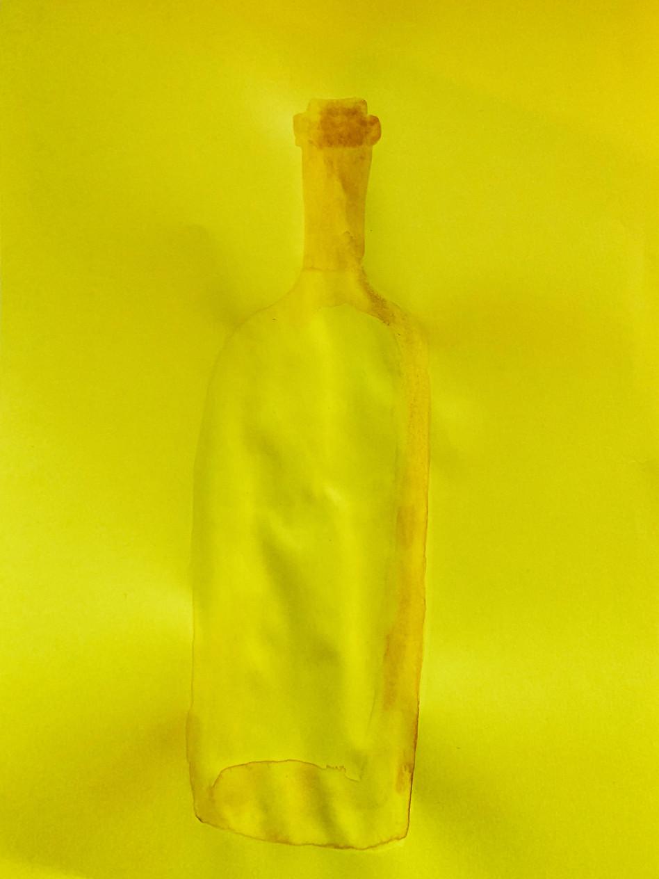 Lockdown 2, watercolors on paper, 29 x 21 cm, 2020