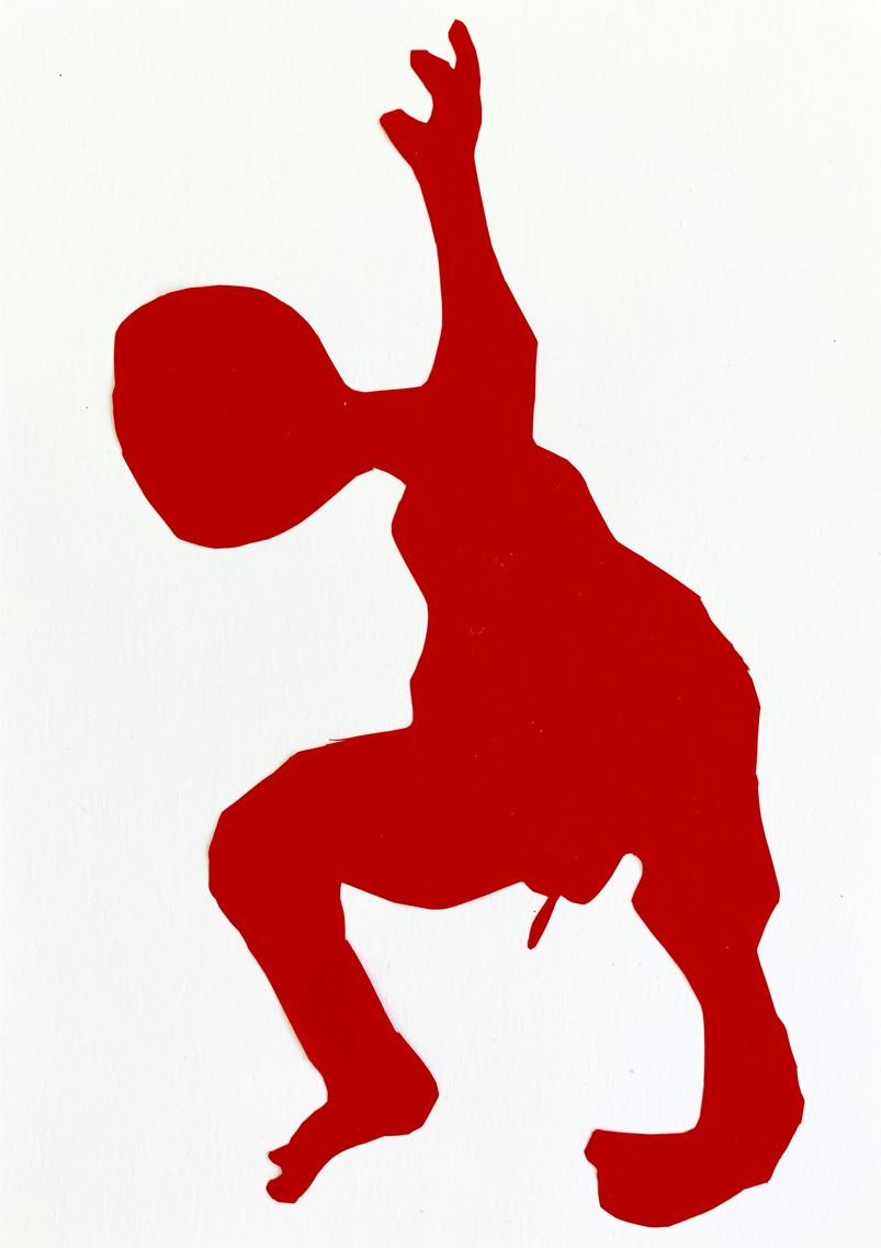 """Acrobatic II"", 29 x 21 cm, 2019"