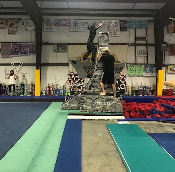 Ninja Warped Wall
