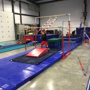 Ninja Obstacle Course