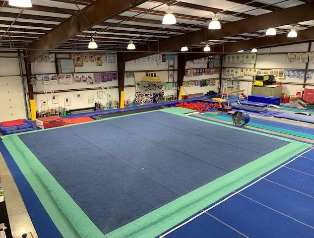 Floor and Tumble Trac Area