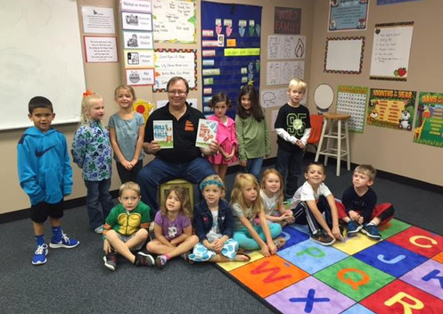 Book reading with author Ed Payne