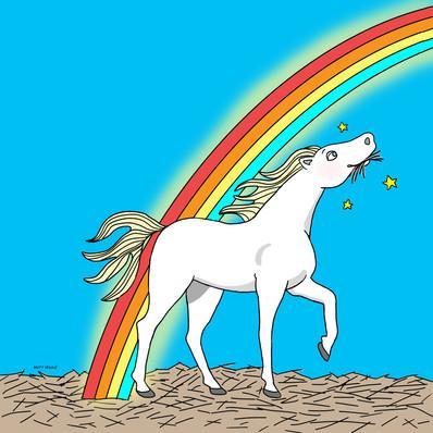 """If I were a horse.."""