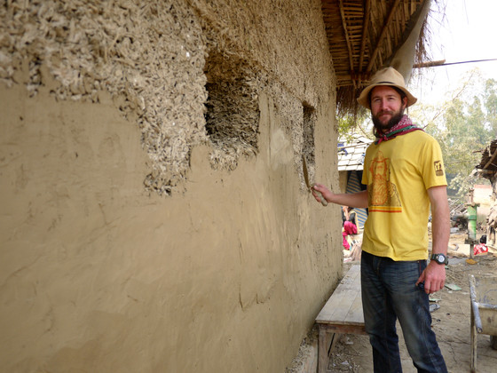 The first Hemp home in Nepal