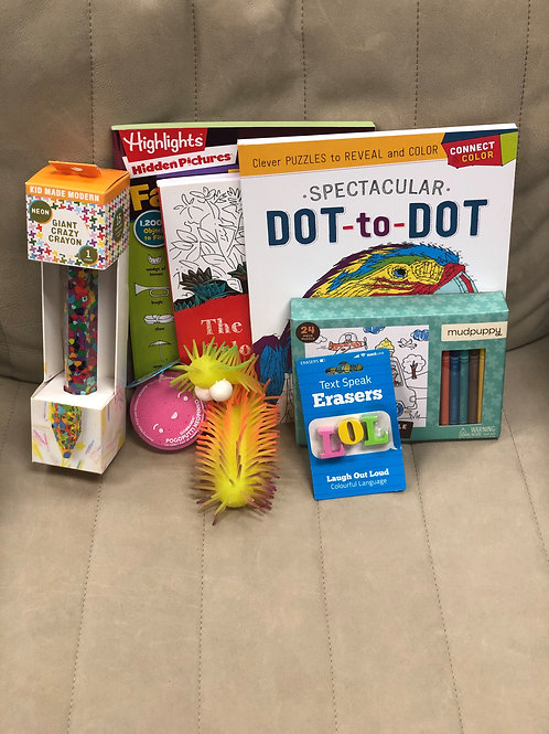 Crafty Colorer Boredom Box