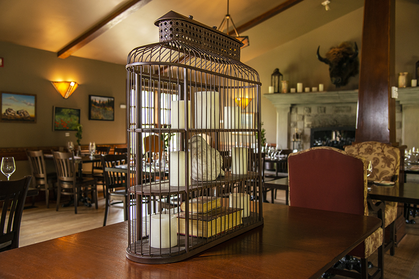 BVRanche Bird Cage Main Dining Room